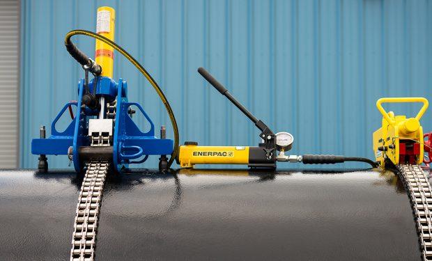 hydraulic python chain clamp